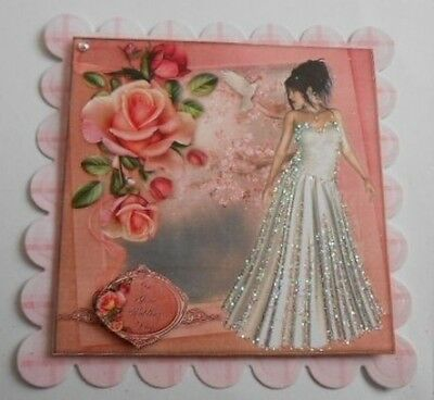 PACK 2 TO THE BOTH OF YOU WEDDING EMBELLISHMENT TOPPERS FOR CARDS AND CRAFTS