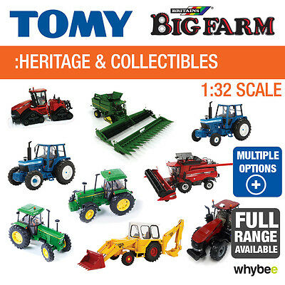 Tomy 1:32 Britains Farm Heritage And Collectables Full Range John Deere - Ford