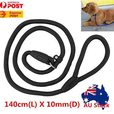 140cm Long Dog Pet Puppy Training Obedience Recall Lead Rope P Chain