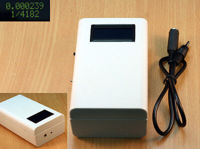 Camera shutter tester for shutter speed up to 1/4000th