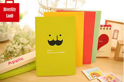 2 x Fashion Notebook Diary Journal exercise book