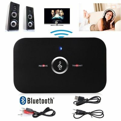 3.5mm Wireless 2in1 Bluetooth Stereo Audio Music Transmitter & Receiver Adapter