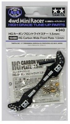 Mini4wd Hg Carbon Wide Front Plate (1,5 mm) Item 15498 Tamiya