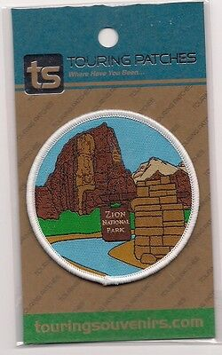Souvenir Utah  Patch  - Zion  National Park Utah