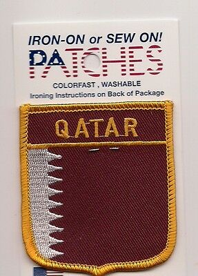 Souvenir Patch - Country Of Qatar