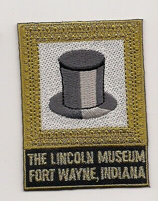 Souvenir Patch - The Lincoln Museum, Fort Wayne, Indiana