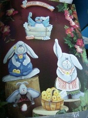 Cindy's Colors Of Summer Painting Book-LaGory Rabbits, Cat, Birds, Watermelon