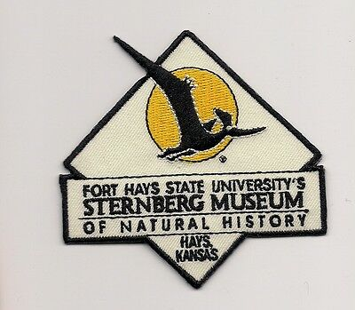 Souvenir Patch- Fort Hays State University's Sternberg Museum Of Natural History