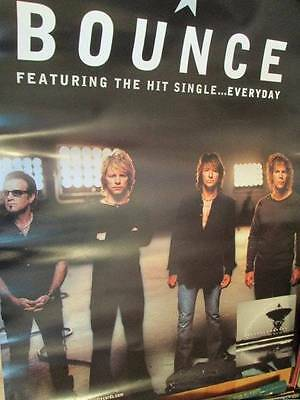 Bon Jovi Bounce Everyday Single Poster Gorgeous Band Picture!! 16.5x24 inches