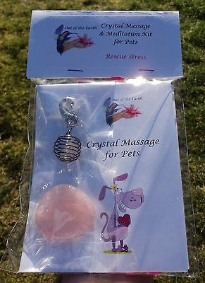 Crystal Massage & Meditation Kit for Rescued Pets