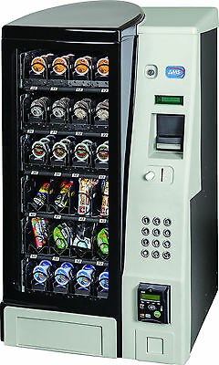 A M S Table Top Snack Vending Machine 24 Select W/Coin & Bill Acceptor (NEW)