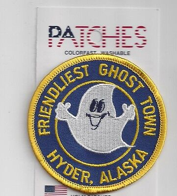 Souvenir Patch - Hyder Alaska - Ghost Town