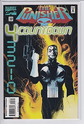 The Punisher #103 (Low print run) Bullseye appearance   2nd to Last issue VF/NM