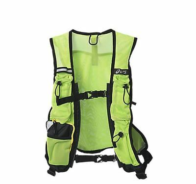 ASICS Reflective Vest. High Visibility for safety when Running, Cycling at night