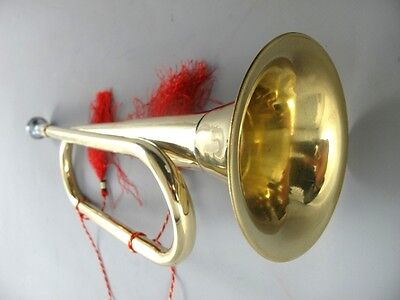 Messing Trompete Tröte Fanfare Brass Trumpet Noisemaker Messinghorn