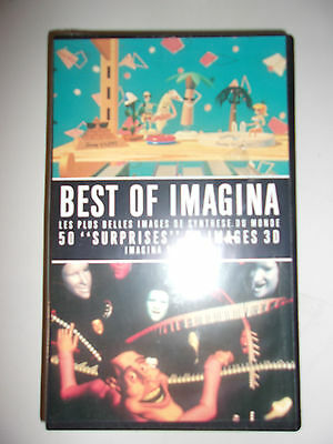 K7 Video Vhs Canal + / Best Of Imagina / Sous Blister