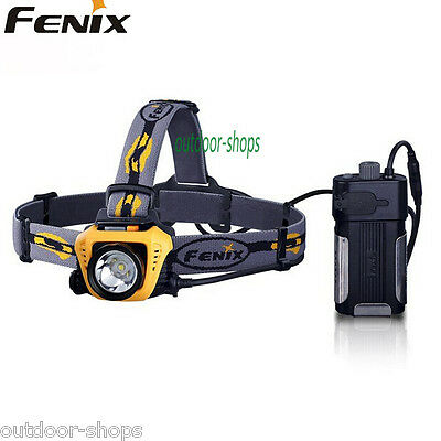 Fenix HP30 Oranger Cree XM-L2 LED 18650 Headlamp with USB Power Charger Output