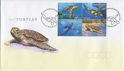 Sea Turtles 2002 - First Day Cover (Jp)