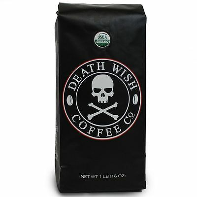 Death Wish Coffee, The World's Strongest Ground Coffee by Death Wish Coffee