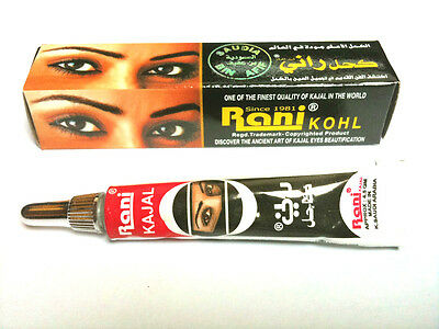 Rani Kohl Kajal Black Eyeliner x 1pc - Original From Saudi Arabia Back In Stock!