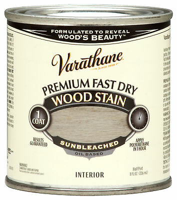 Varathane 262030 1/2 Pint Sunbleached Fast Dry Wood Stain,No 262030,  Rustoleum