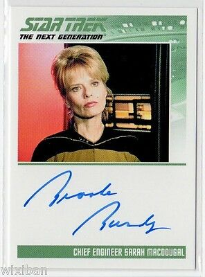 Star Trek TNG Portfolio Autograph Card Ltd BROOKE BUNDY