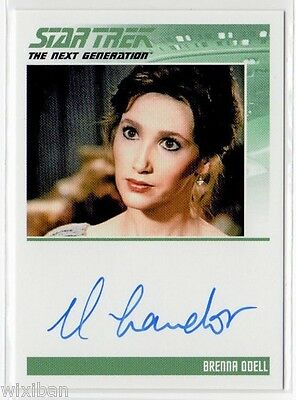 Star Trek TNG Portfolio Autograph Card Ltd ROSALYN LANDOR