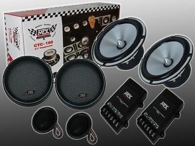 "New MTX CTC-160 6.5"" 2 Way Component Car Speakers"