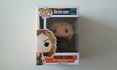 funko,pop,DR WHO,river song,296,neuf