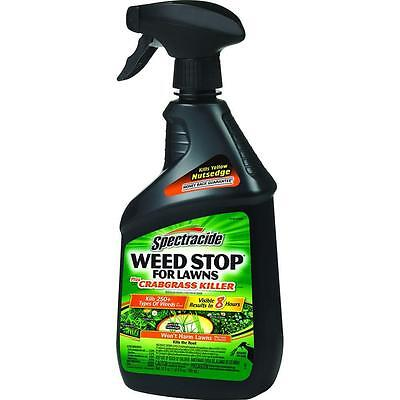 Spectracide Weed Stop for Lawns Plus Crabgrass Killer 24oz.