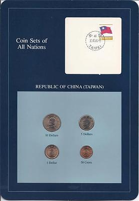 Coin Sets of All Nations, Republic of China(Taiwan)