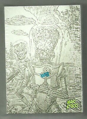 2016 Topps Mars Attacks Occupation - Concept Parallel 45 Insert Card Set Sealed