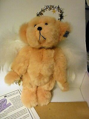 Bears Annette Funicello Guardian Angel Bear Numbered W/ Certificate Excellent Cond. Dolls & Bears
