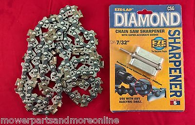 3/8 x 063, TUNGSTEN CARBIDE CHAINSAW CHAIN &  DIAMOND GRINDER. HUSQVARNA, STIHL