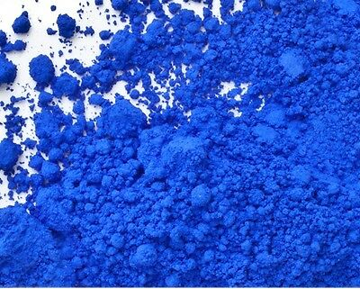Matte Cobalt Blue Ultramarine Powder Pigment - 1 oz