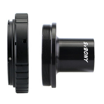 Microscope Camera T-Adapter+DSLR Camera Mount Adapter T-Ring For Canon EOS