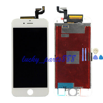 White LCD Display Digitizer Touch Screen Assembly Replacement For iPhone 6s