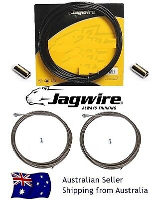 Jagwire Road Brake stainless Cable Set Dura-Ace Ultegra105  BLACK Express Post
