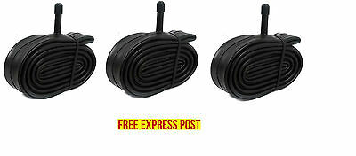 3 PACK Quality Bicycle Bike Tube 700 x 38 / 45 C Schrader valve hybrid EXPRESS