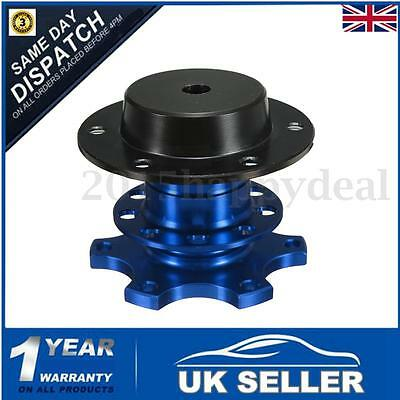 70mm Racing Car Track Quick Release Snap Off Steering Wheel Boss Hub Adapter Kit
