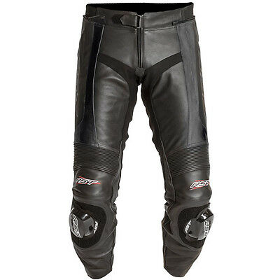 RST Blade Leather Sports Touring Motorcycle Jeans - Black