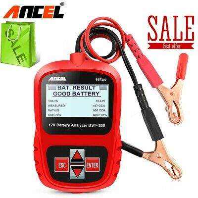 Ancel BST200 Auto Battery Tester Battery Analyzer Vehicle Car AGM GEL CCA 12V