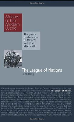 The League of Nations,Ruth Henig,HB New