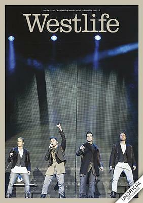 Westlife 2017 Large A3 Poster Size Wall Calendar New & Sealed By Red Star