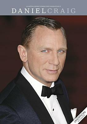 Daniel Craig 2017 Large A3 Poster Size Wall Calendar New & Sealed By Red Star