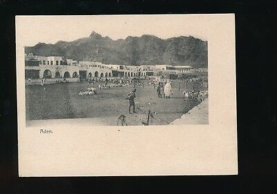 ADEN General view Court size pre1900 u/b PPC