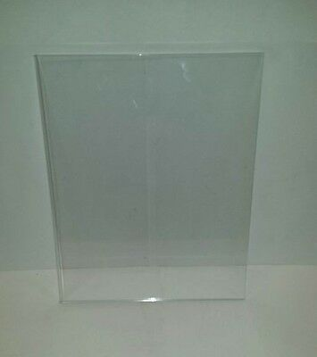 Lot of 6 Pieces - 8.5″ x 11″ Clear Acrylic Wall Mount Sign Holders