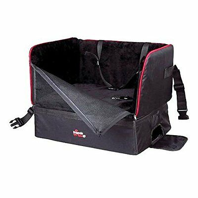 Trixie Car Seat 45 × 38 × 37 Cm Black Pet Supplies Made Of Nylon For Small Dogs