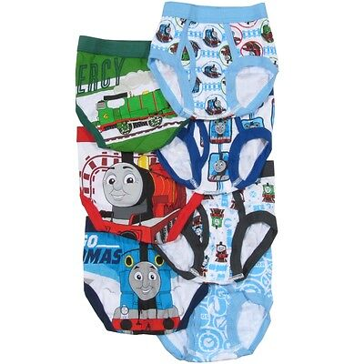 Thomas The Train & Friends - 7 Pairs Underwear/briefs Sz 2-3T, 4T **new** Usa!!