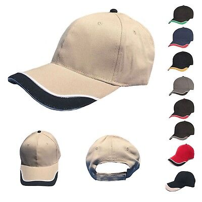 1 Dozen Low Crown Racing Baseball Hats Caps Sandwich Cotton Wholesale Bulk